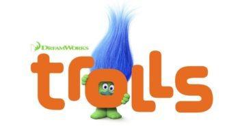 Trolls Animatetd Film Poster