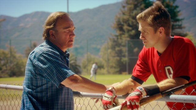 Undrafted Jim Belushi and Aaron Tveit