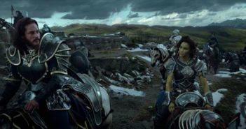 Warcraft Travis Fimmel and Paula Patton