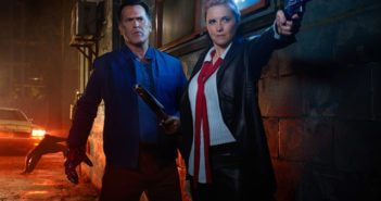 Ash vs Evil Dead Season 2 Bruce Campbell and Lucy Lawless