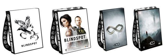 2016 Comic Con Bags The 100 and Blindspot