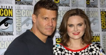 Bones stars David Boreanaz and Emily Deschanel