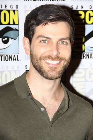 David Giuntoli from Grimm at Comic Con