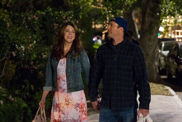 Lauren Graham and Scott Patterson in Gilmore Years: A Year in the Life