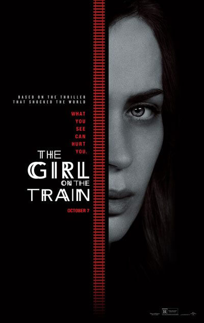 Girl on the Train Poster with Emily Blunt