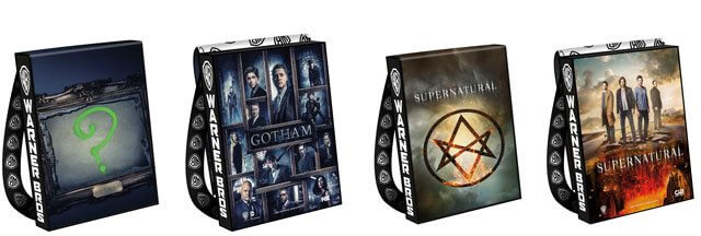 2016 Comic Con Bags Gotham and Supernatural