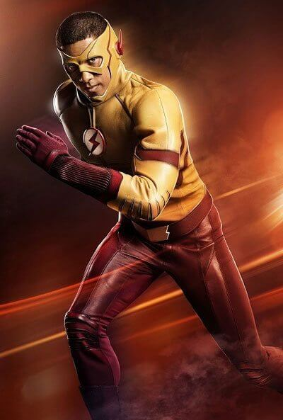 Kid Flash in The Flash Season