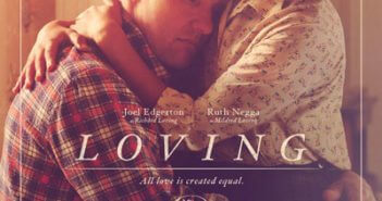 Loving Movie Poster with Joel Edgerton and Ruth Negga