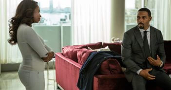 Naturi Naughton and Omari Hardwick in Power season 3