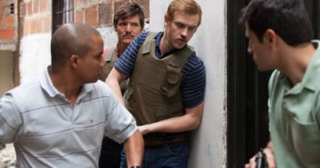 Pedro Pascal and Boyd Holbrook in Narcos Season 2