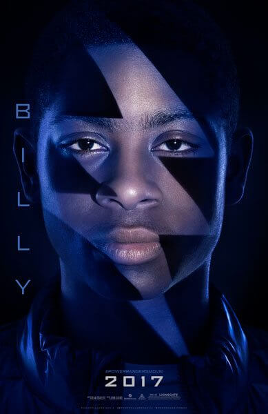Power Rangers Billy Poster