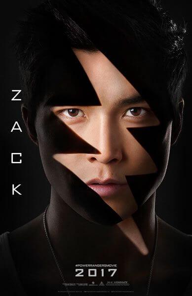 Power Rangers Zack Poster