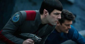 Star Trek Beyond Zachary Quinto and Karl Urban Photo
