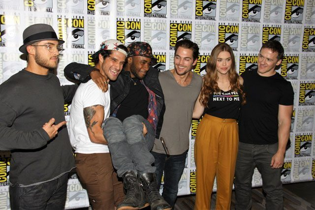 Teen Wolf's Tyler Posey and Cast at 2016 Comic Con