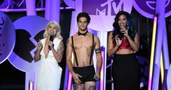 Tyler Posey at the 2015 MTV Fandom Awards