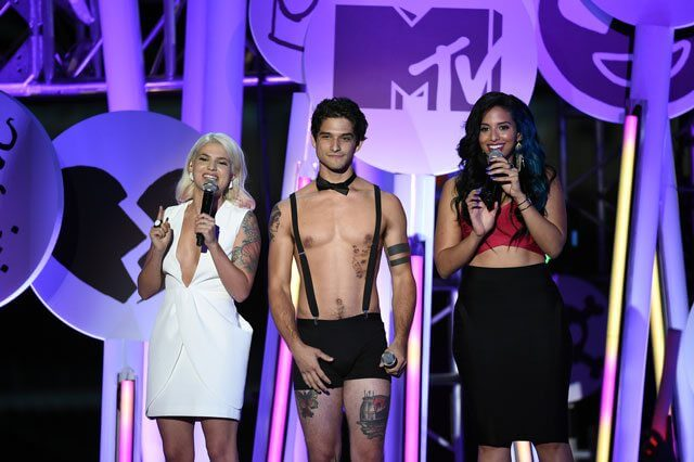 Tyler Posey at the 2015 MTV Fandom Awards