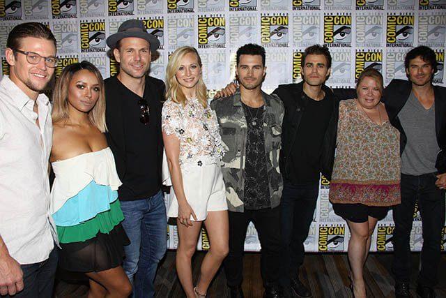 The Vampire Diaries Season 8 at Comic Con