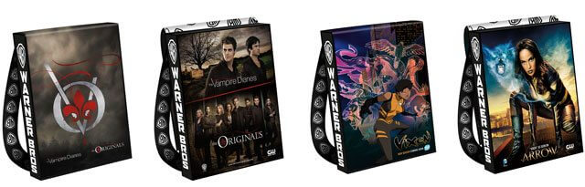 2016 Comic Con Bags Vampire Diaries and Vixen