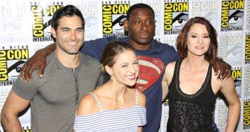 Supergirl star Tyler Hoechlin talks Superman