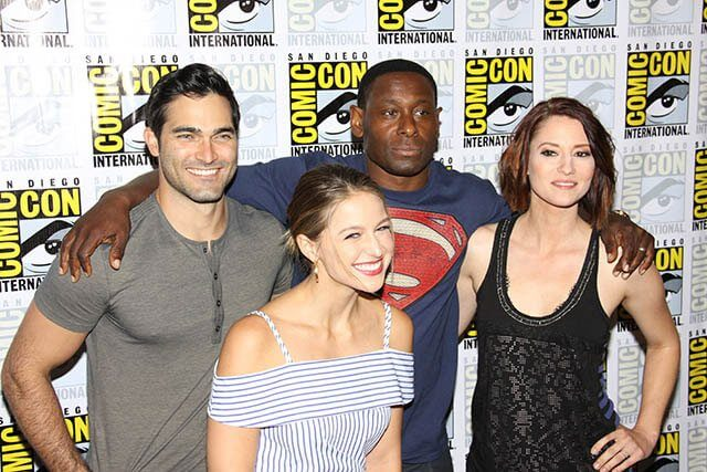 Supergirl star Tyler Hoechlin talks Superman