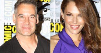 Colony stars Adrian Pasdar and Amanda Righetti