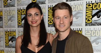 Ben McKenzie and Morena Baccarin from Gotham