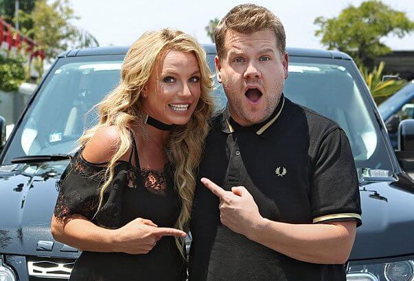 Carpool Karaoke Britney Spears and James Corden