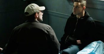 Mr Robot stars Rami Malek and Christian Slater season 2