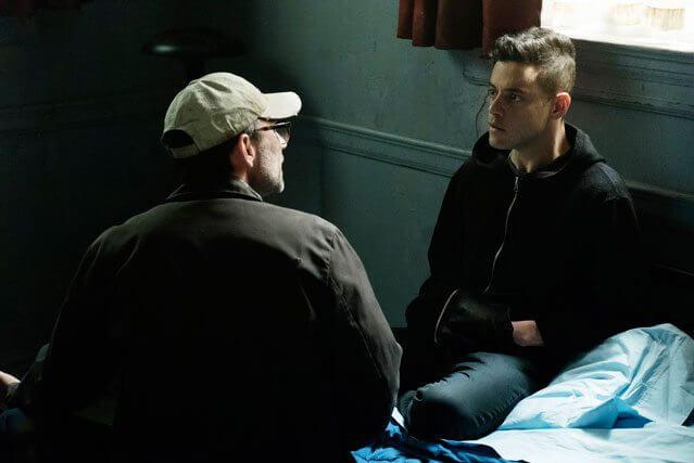 Mr Robot stars Rami Malek and Christian Slater season 2