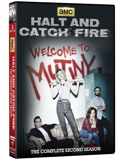 Halt and Catch Fire Season 2 on DVD