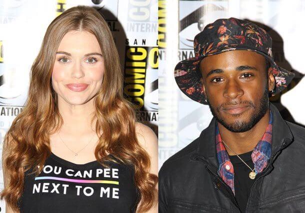 Teen Wolf stars Holland Roden and Khylin Rhambo