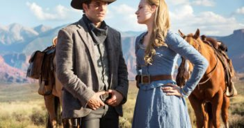 Westworld stars James Marsden and Evan Rachel Wood