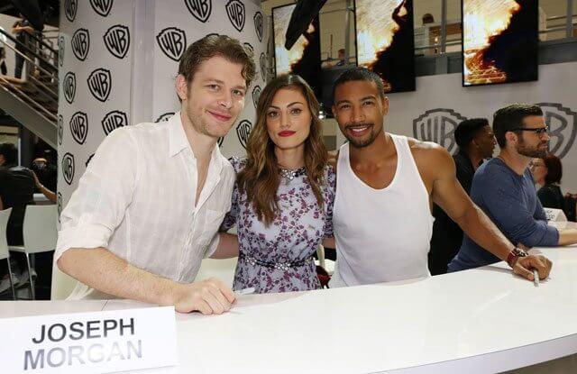 The Originals stars Joseph Morgan, Phoebe Tonkin, Charles Michael Davis