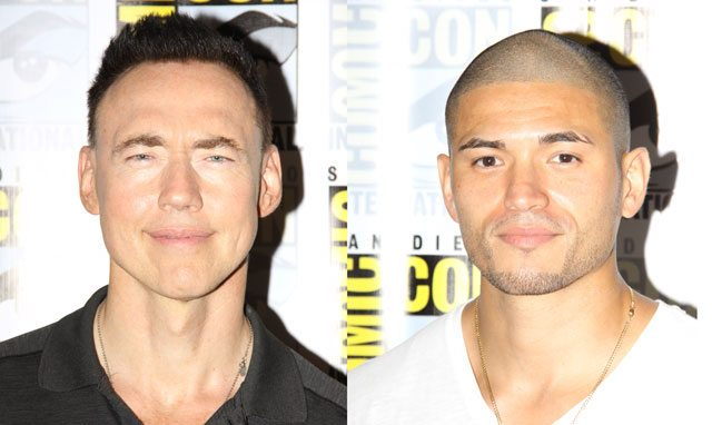 The Strain stars Kevin Durand and Miguel Gomez