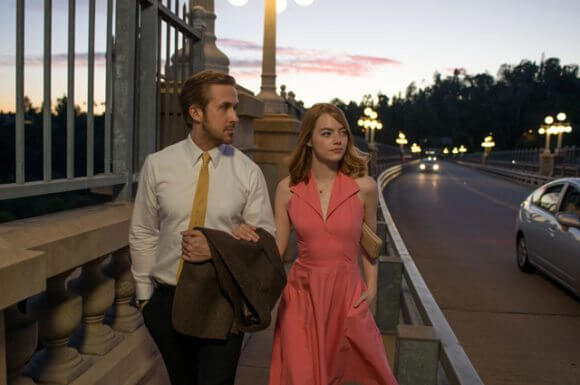 La La Land stars Ryan Gosling and Emma Stone