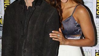 The 100 stars Richard Harmon and Lindsey Morgan