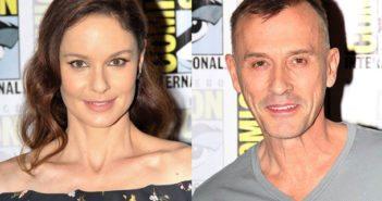 Prison Break stars Sarah Wayne Callies and Robert Knepper