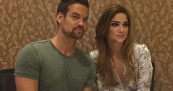 Salem stars Shane West and Janet Montgomery