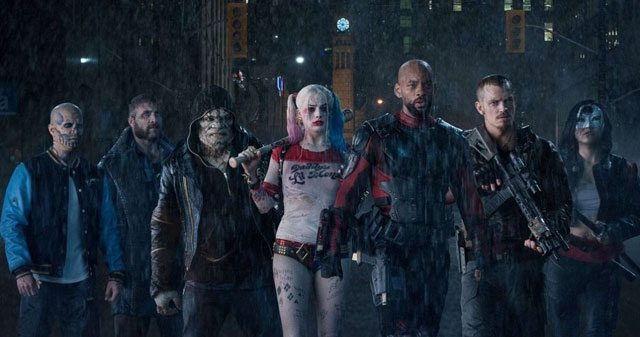 Suicide Squad Cast Movie