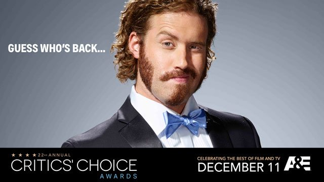TJ Miller Hosting Critics Choice Awards