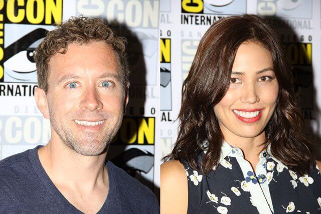 Bones stars TJ Thyne and Michaela Conlin