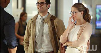 Supergirl Melissa Benoist and Tyler Hoechlin