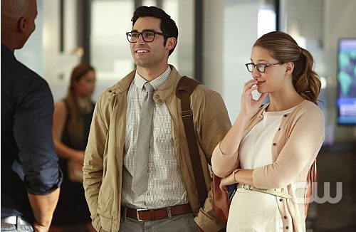 Supergirl Melissa Benoist and Tyler Hoechlin