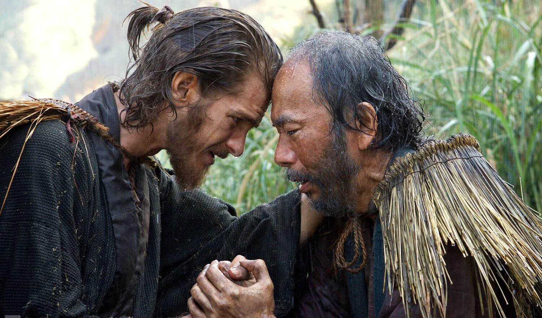 Silence stars Andrew Garfield and Shin'ya Tsukamoto