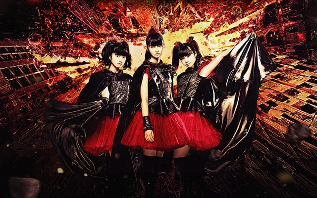 Babymetal pop-metal group