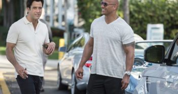 Ballers stars Dwayne Johnson and Troy Garity