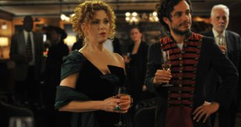 Bernadette Peters and Gael Garcia Bernal in Mozart in the Jungle