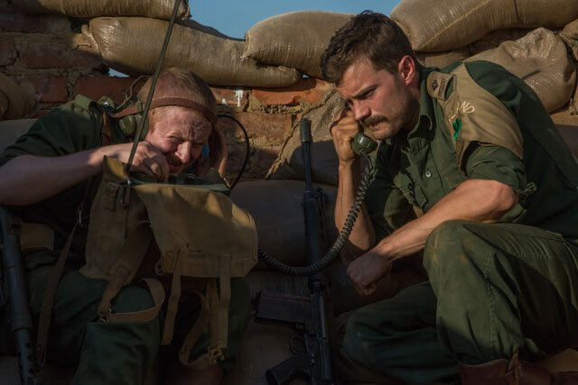 Jamie Dornan stars in The Siege of Jadotville