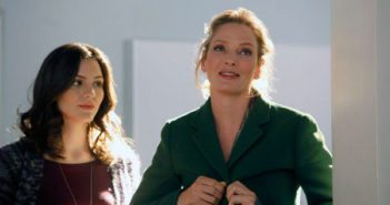 Uma Thurman and Katharine McPhee in Smash
