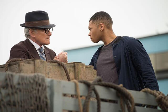 Legends of Tomorrow stars Victor Garber and Franz Drameh